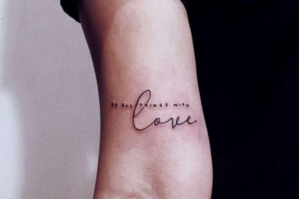 sebelum menghapus tato